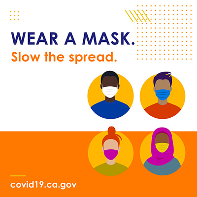 WEAR A MASK. Slow the Spread